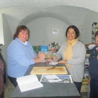 Atelier pâtisserie du 10 novembre 2017 - Gâteau corse à la poêle